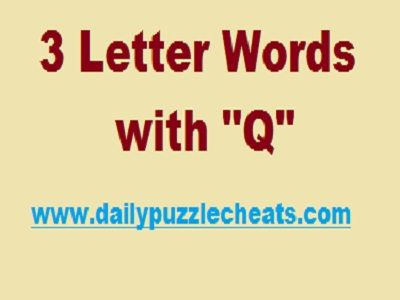 Words with q