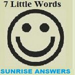 7 Little Words Sunrise Level 36 Answers