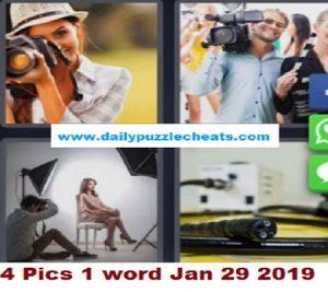 4 Pics 1 word January 29 2019