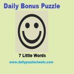 7 Little Words Bonus Puzzle