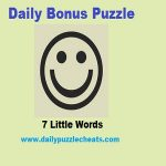 7 Little Words Bonus Puzzle answers