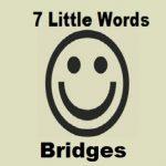 7 Little Words Bridges Level 14 Answers