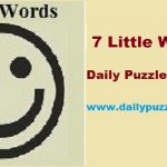 7 Little Words January 7 2019 Daily Puzzle Answers