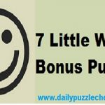 7 Little words Bonus January 30 2019 answers