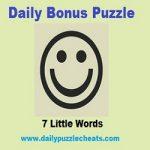 7 Little words Daily Bonus Puzzle Answers