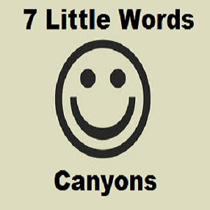 7 Little Words Canyons Level 115 Answers