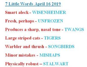 7 little words april 16