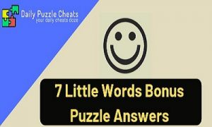 bonus puzzle answers