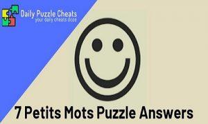 7 petits mots answers