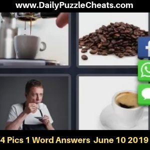 4 Pics 1 Word June 10 2019 Daily Puzzle Answers