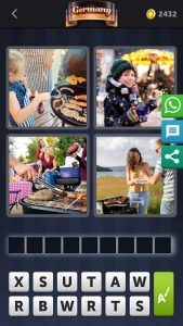 4 pics 1 Word July 3 answer is BRATWURST