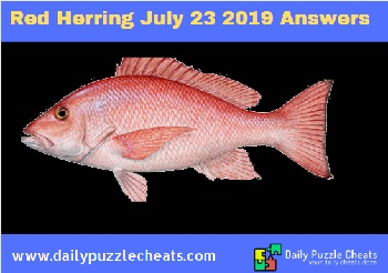 Red herring July 23 2019