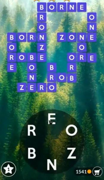Wordscapes July 28 2019 answers