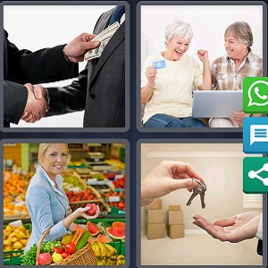 Clues of 4 pics 1 word July 19