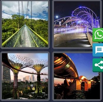 Bridge 4 Pics 1 word August 23