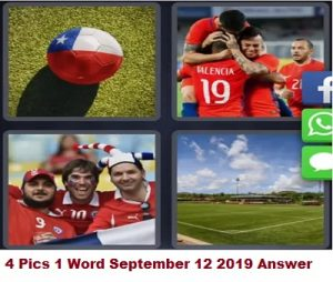4 Pics 1 Word Chile daily puzzle answer