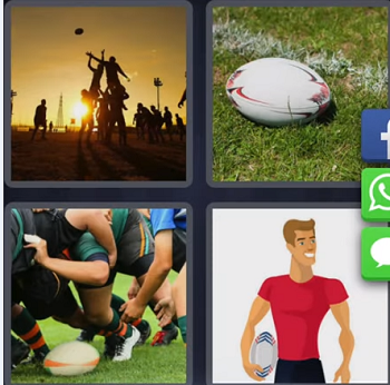 4 Pics 1 Word September 5 answer Rugby