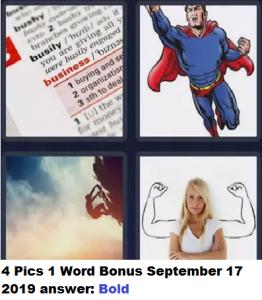 4 Pics 1 Word answer