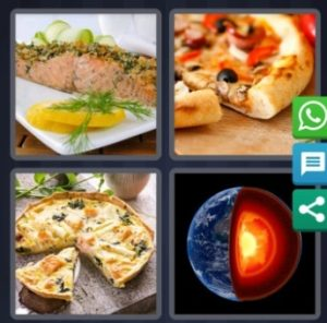 4 Pics 1 Word Bonus Answer is Crust