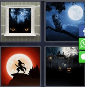 4 Pics 1 word October 3 clue