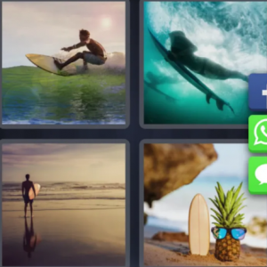 4 pics 1 word Feb 29 - surfing