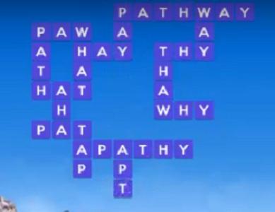 Wordscapes puzzle June 1 2020