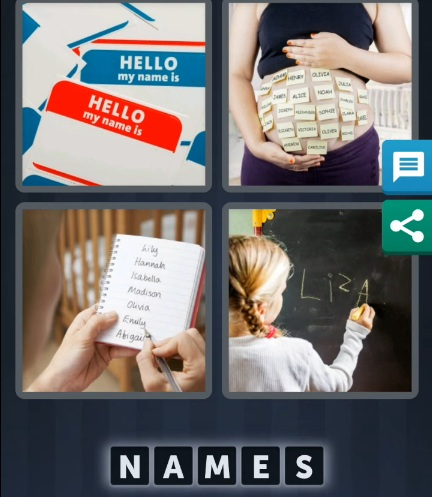 4 Pics 1 Word July 7 2020 daily puzzle