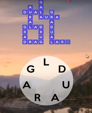Wordscapes daily puzzles answers of September 1 2020