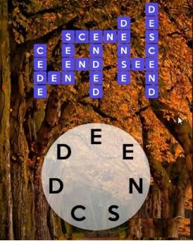 Wordscapes October 15 2020