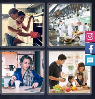 4 Pics 1 Word - Kitchen